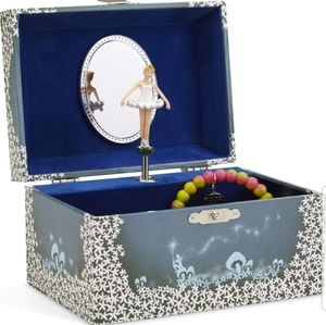 Musical Jewelry Box with Spinning Ballerina